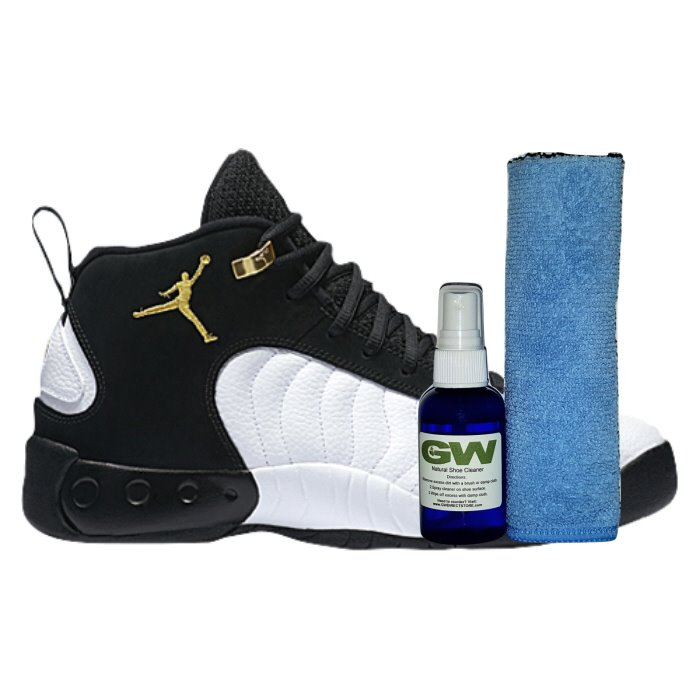 Keep those babies clean with GW Shoe Cleaner-->https://gwdirectstore.com/showcleaner #shoes #nba #jumpman #zion #pelicans