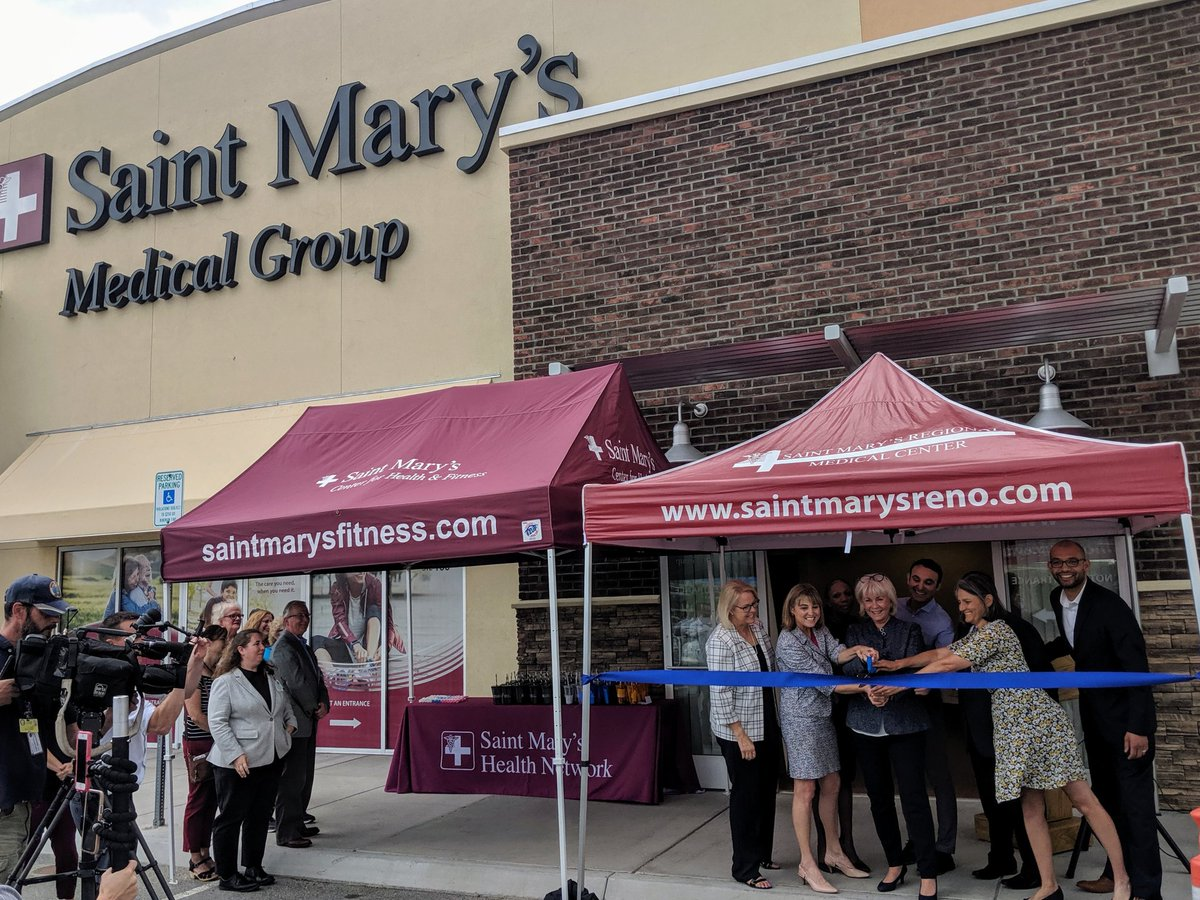 Saint Mary's took phenomenal care of my mom over the past year while she was in hospice, and I'm proud to see them expanding their service area to North Valleys. Congrats on your grand opening today!
