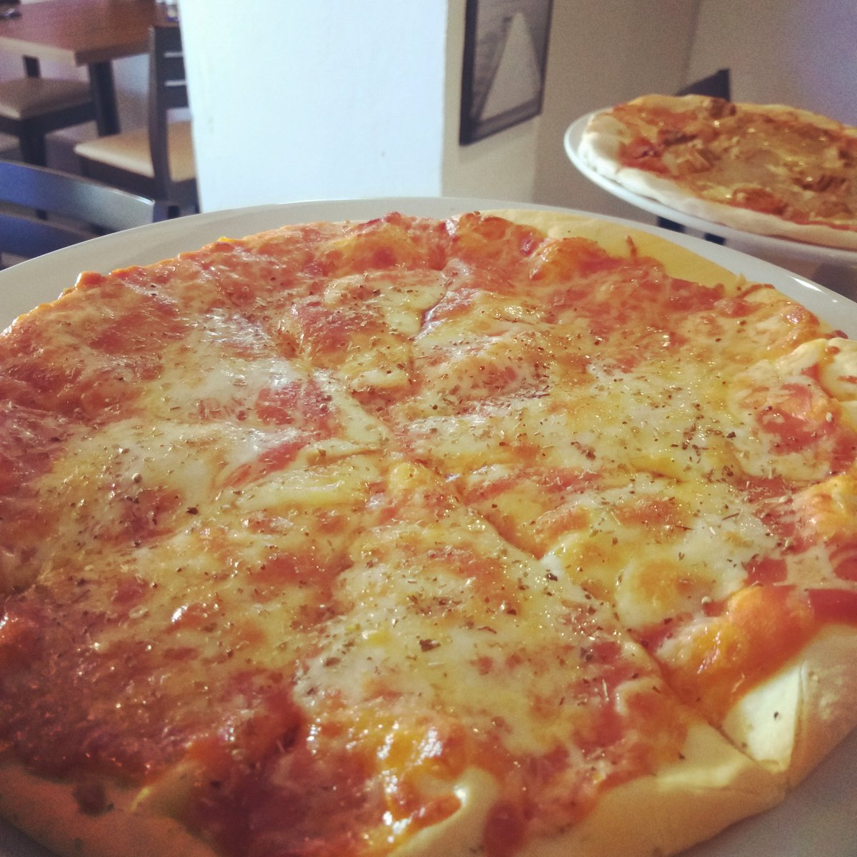 Gluten free pizza @ pizza prosecco night Waterfront#waterfrontrestaurant#glutenfree#pizzalovers #proseccolovers