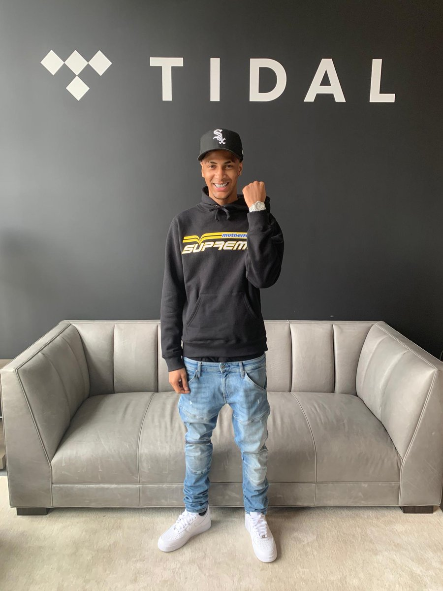 Shoutout to @comethazine117 for stopping by TIDAL today.   Check out his new album 'BAWSKEE 3.5' when it drops this Friday.