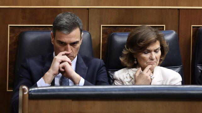 """Carmen Calvo ha llamado a Pablo Echenique este martes por la tarde para """"sentarse"""" de nuevo con vistas al posible entendimiento antes de la votación del jueves https://www.eldiario.es/politica/PSOE-Unidas-Podemos-corresponde-iniciativa_0_923558320.html…"""