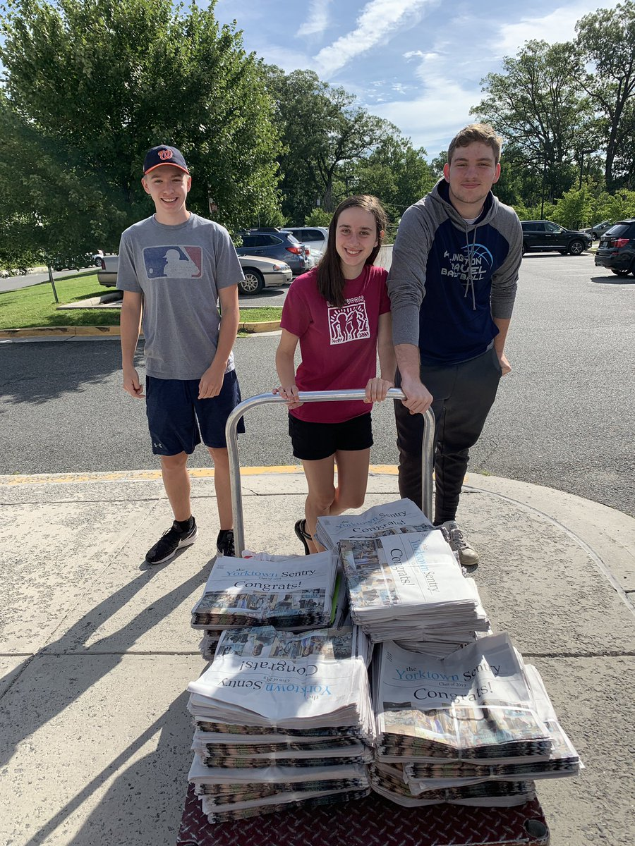 Due to flooding in the main office, there has been a slight delay in mailing out the Graduation Issue - but rest assured, it's on its way! <a target='_blank' href='http://twitter.com/YorktownHS'>@YorktownHS</a> <a target='_blank' href='http://twitter.com/Principal_YHS'>@Principal_YHS</a> <a target='_blank' href='https://t.co/D1nAKK8DL5'>https://t.co/D1nAKK8DL5</a>