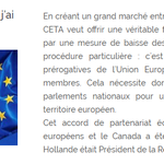Image for the Tweet beginning: Ratification du #CETA : pourquoi