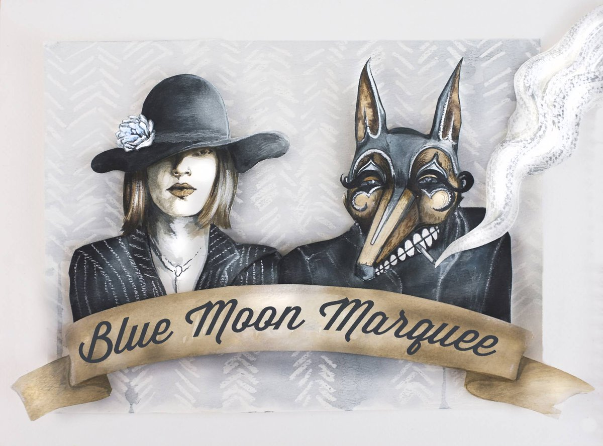 It's Tuesday but we're going to pretend it's the weekend with @bluemoonmarquee! A Gypsy Blues band that writes and performs original songs. Show starts at 8 - join us for dinner beforehand! Tix at the door! All are welcome #AtTheEnz #KelownaMusic #Kelowna
