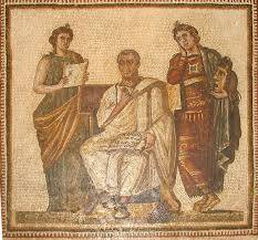 Today 19BC Virgil died at Brindisi, Italy. An ancient Roman poet of the Augustan period. He is known for three major works of Latin literature, the Eclogues, the Georgics, and the epic Aeneid.