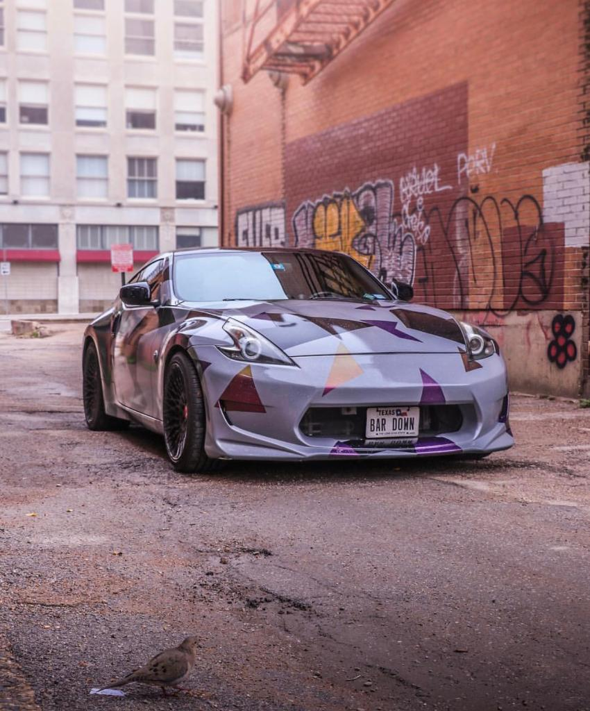 Nissan: Not too good at the whole 'blending in' thing.  #Nissan370Z #Nissan #370Z  📷: wildan...