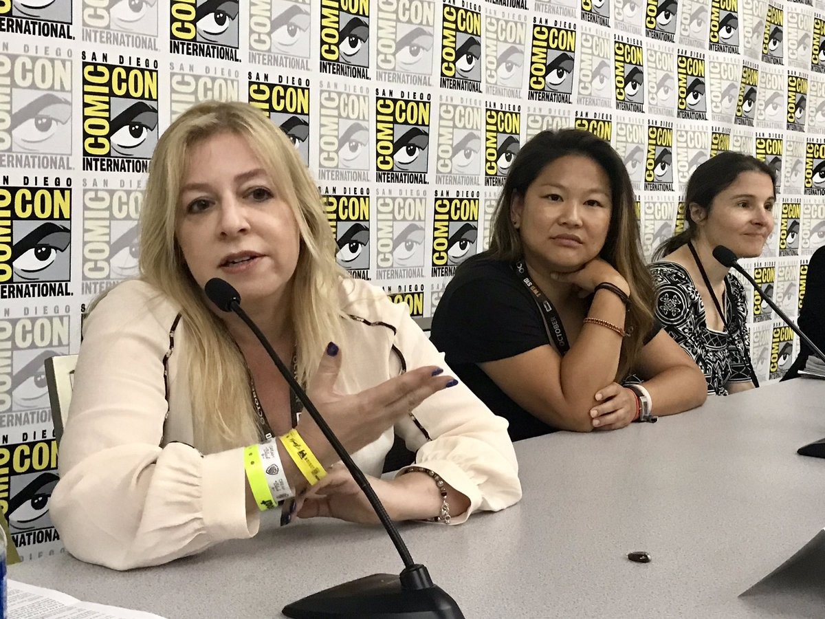 Digital LA - Comic-Con panel: Diversity Women Writers and Producers