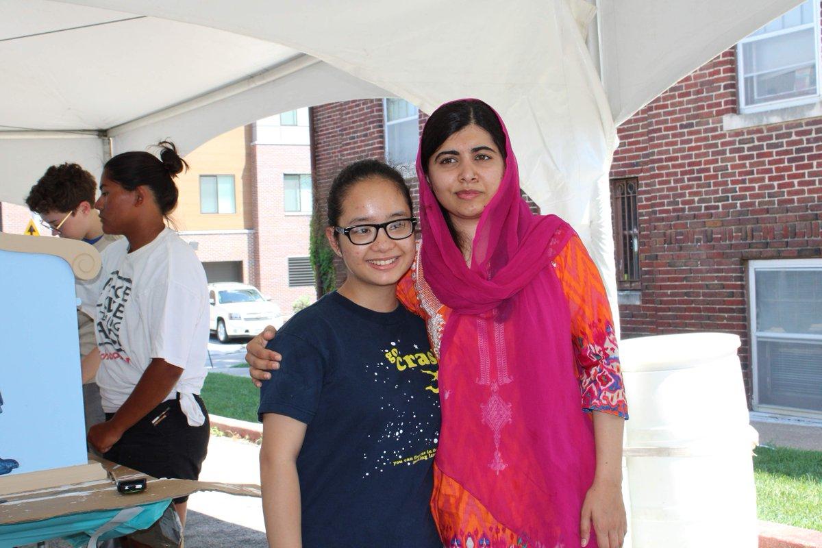Last week Malala was in Omaha, Nebraska, where she met ...