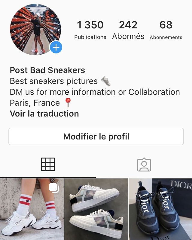 Follow our  account on Instagram : RealSneaks_ !  http://Instagram.com/realsneaks_/pic.twitter.com/SYKckNJ5JG
