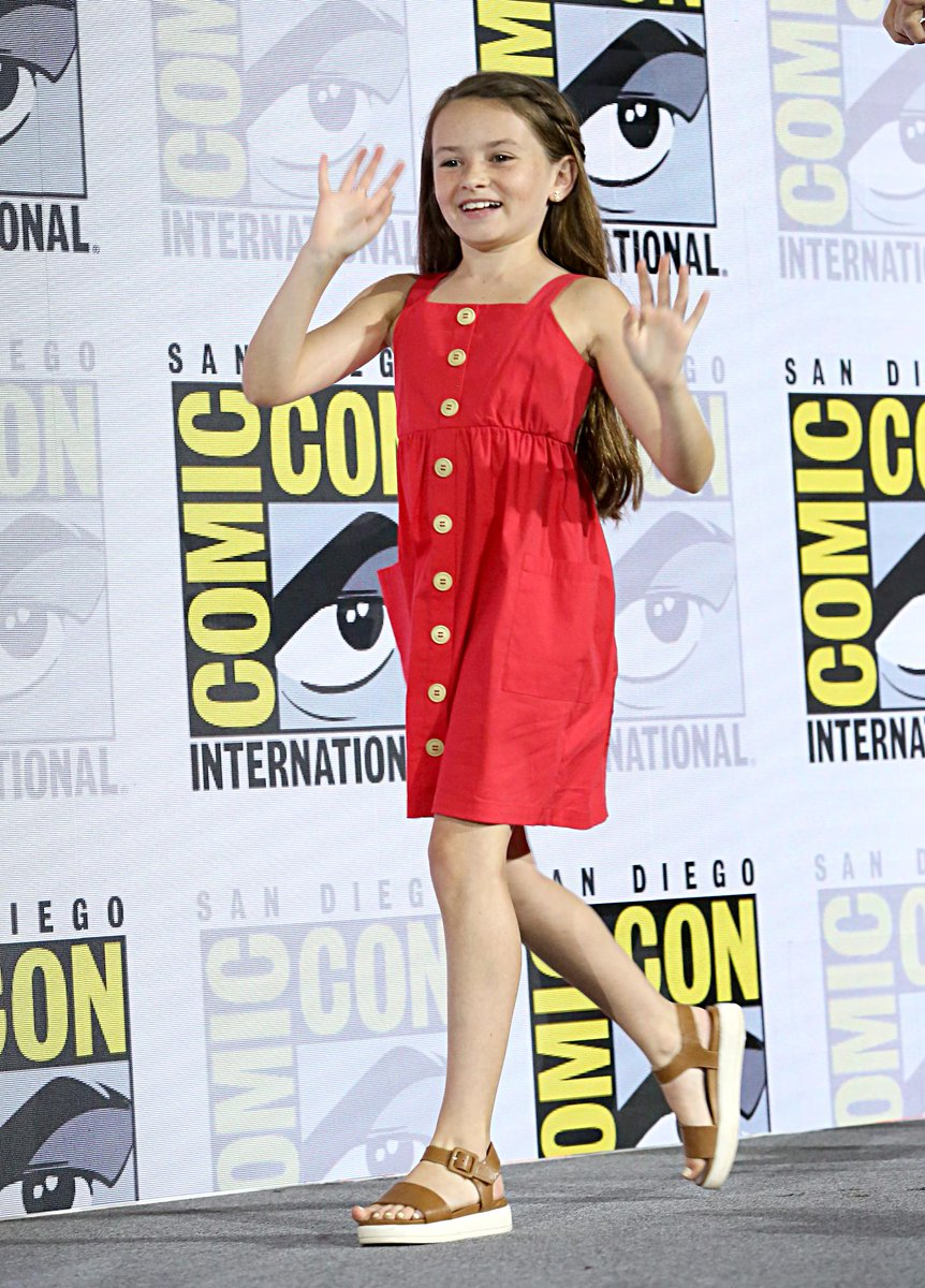 Safe to say Cailey's first #SDCC was a success. #TWD