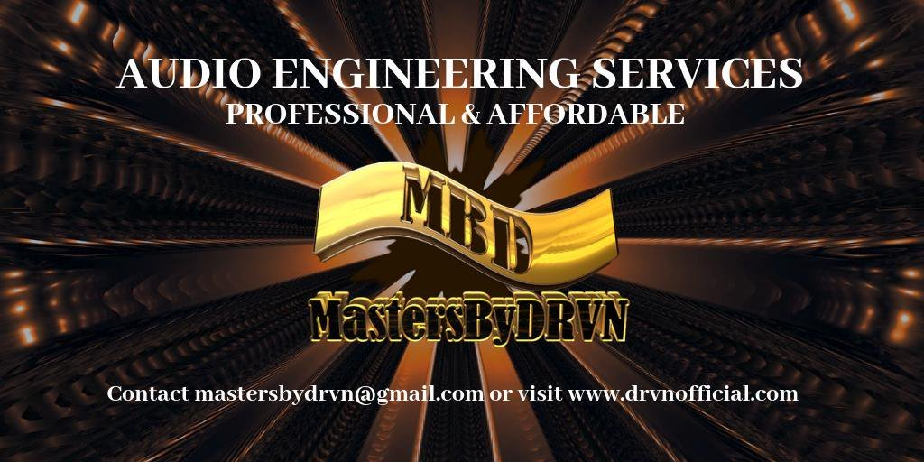 ***NEED AN AUDIO ENGINEER?*** Professional, affordable and quick turnover! Let me take your project to the next level! Check it out => https://ift.tt/2HzftVa  #AudioEngineer #MixAndMastering #MusicProducer #MastersByDRVN
