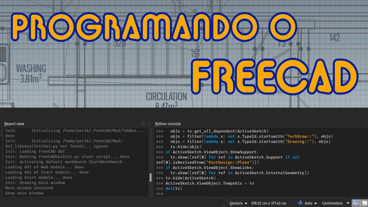 Freecad Sketch Grid