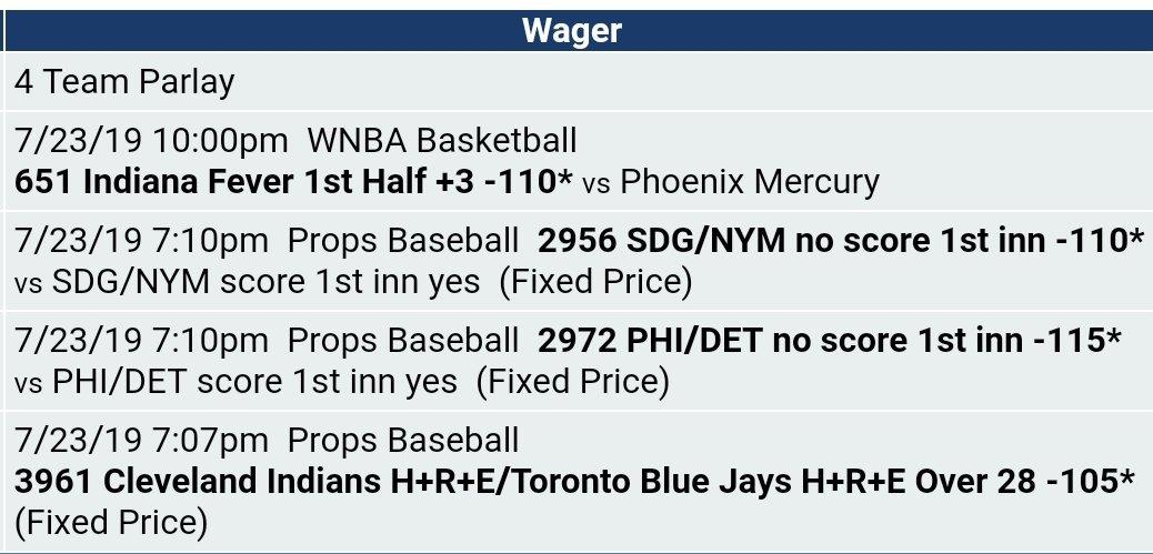 #GamblingTwitter #sportsbetting #MLBTwitterHitter #WNBATwitter