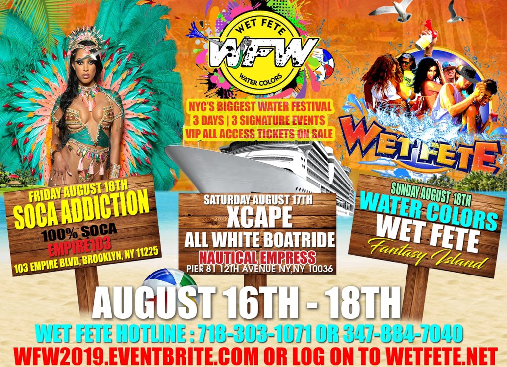 Wet Fete Weekend (@WetFeteUSA) | Twitter