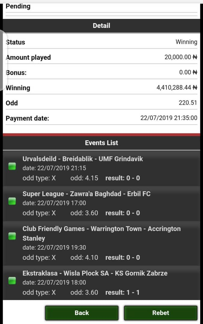 We offer fixed match which are 100% sure and guarantee to our subscribers only depending on the odds affordable to you WhatsApp us on +2348138637860 https://t.co/8ZqAw8MsKh
