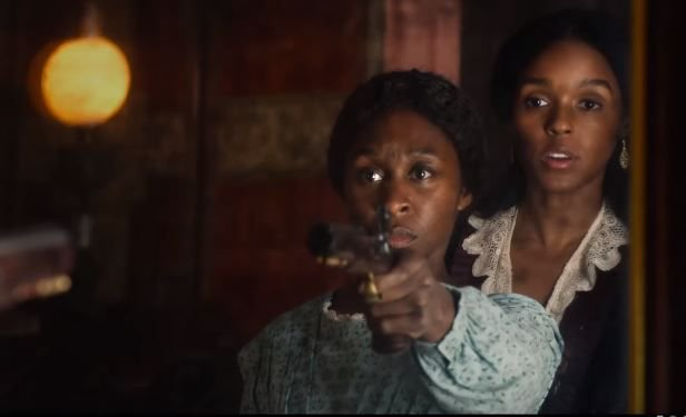 #HARRIET: @CynthiaEriVo stars as the iconic freedom fighter in @kasi_lemmons' buzzy #Oscar hopeful. Watch the official trailer here: https://buff.ly/2Ycm6S2.
