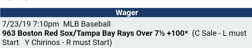 #GamblingTwitter #sportsbetting #MLBTwitterHitter