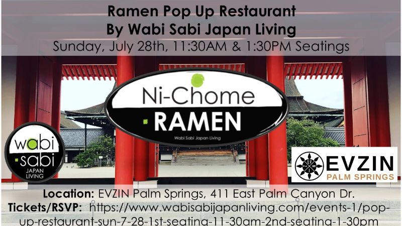 Ramen is back and we'll be at EVZIN Palm Springs Sun 7/28 11:30AM & 1:30PM.  The 1:30PM seating is sold out!  Vegan or Tonkotsu.  Wow flavors!  - https://t.co/0qhf5moUY4 https://t.co/wMgGH1j28C
