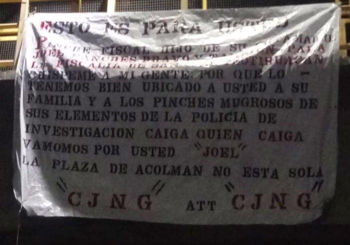 CJNG deja manta contra autoridades del #Edoméx 😱👇http://bit.ly/2OgHh5H