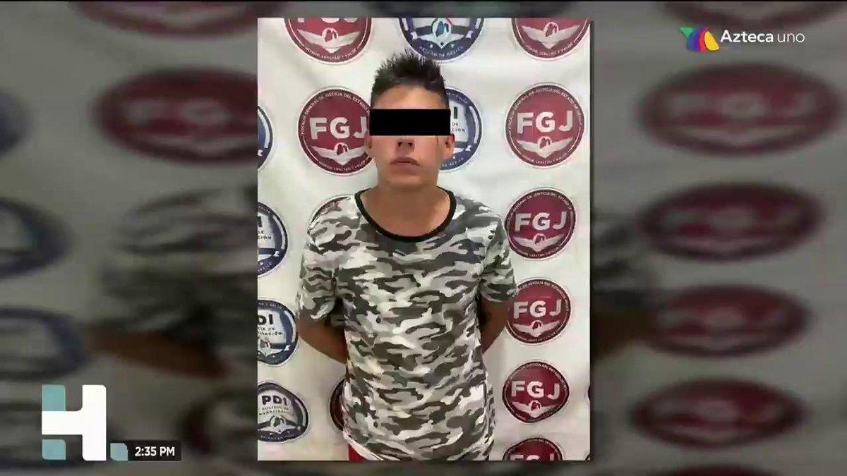 En el #Edomex un joven de 21 años fue detenido la semana pasada por robo a transporte público, pero con todo y brazalete electrónico porque hace 50 días había salido de la cárcel.
