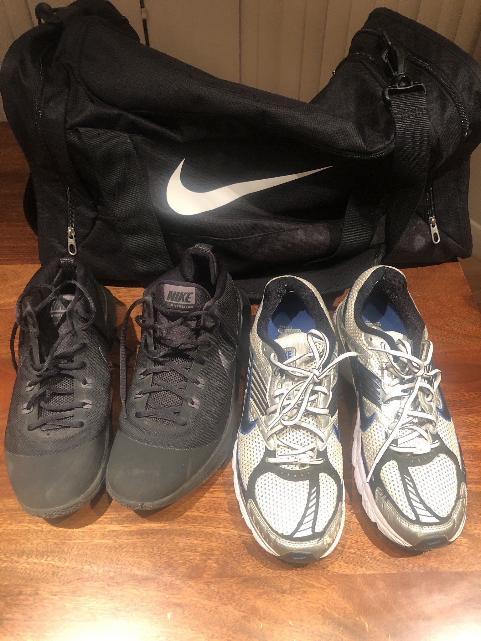 Ted Cruz: This weekend, bought 4 new pairs of sneakers (2 for DC & 2 for Houston) & a new gym bag...