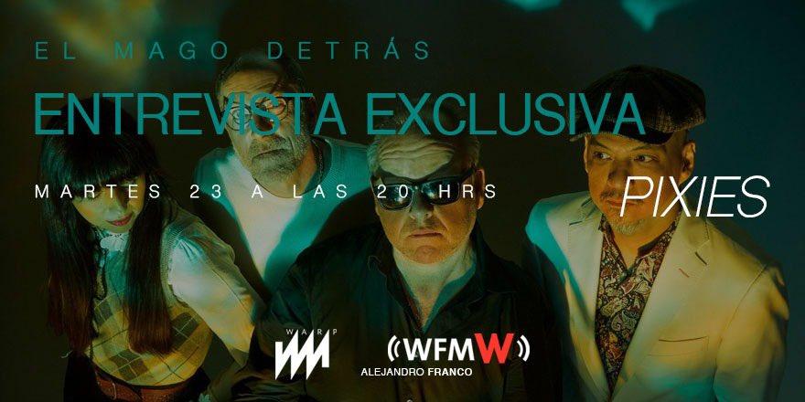La entrevista con @PIXIES ahora en @WFM_Wradio con @AlejandroFranco #PixiesEnW https://twitter.com/wfm_wradio/status/1153854048933699584…