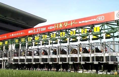 ダービー4,5着ステークス(GII) 東京競馬場 芝2400m20頭 https://t.co/NvReDOSLCs