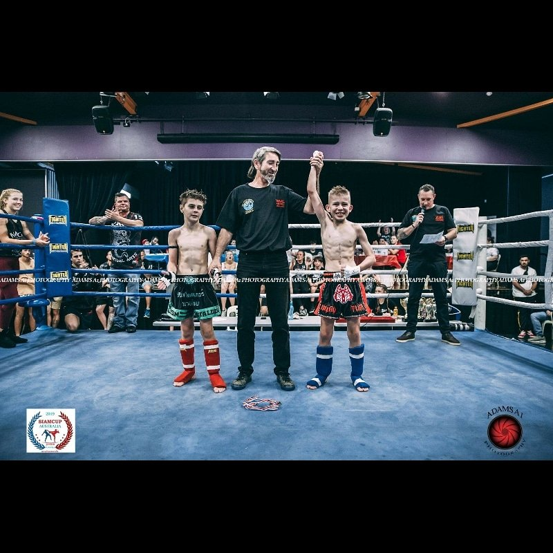 4th victory win in #MuayThai
