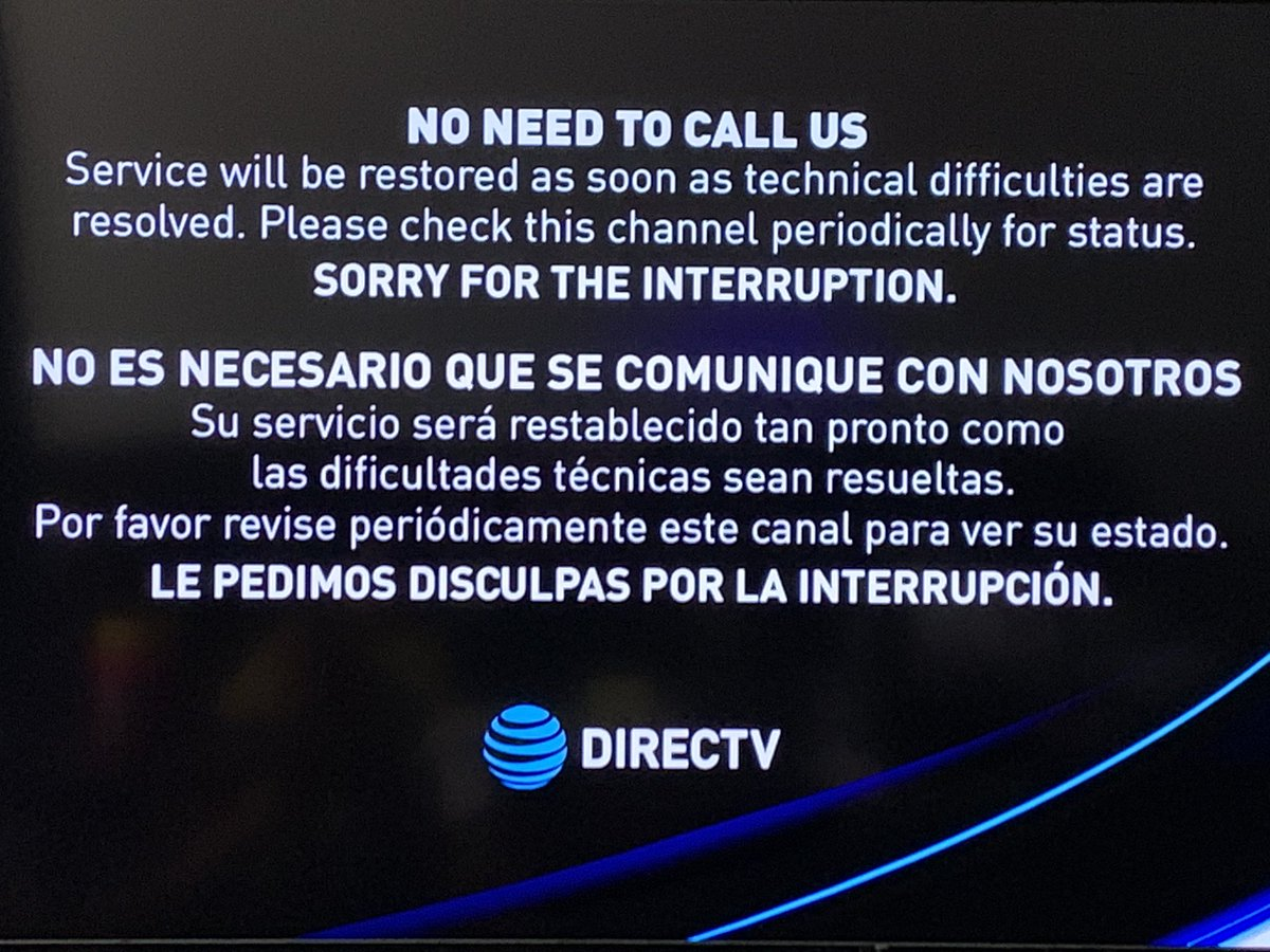 #DirecTV #Nexstar #ATT is about to lose another long time customer! You take 4 out of 5 of the local channels away and this just popped up on the only channel left.. CBS?! Aww hell nah! Fuck y'all bitches!