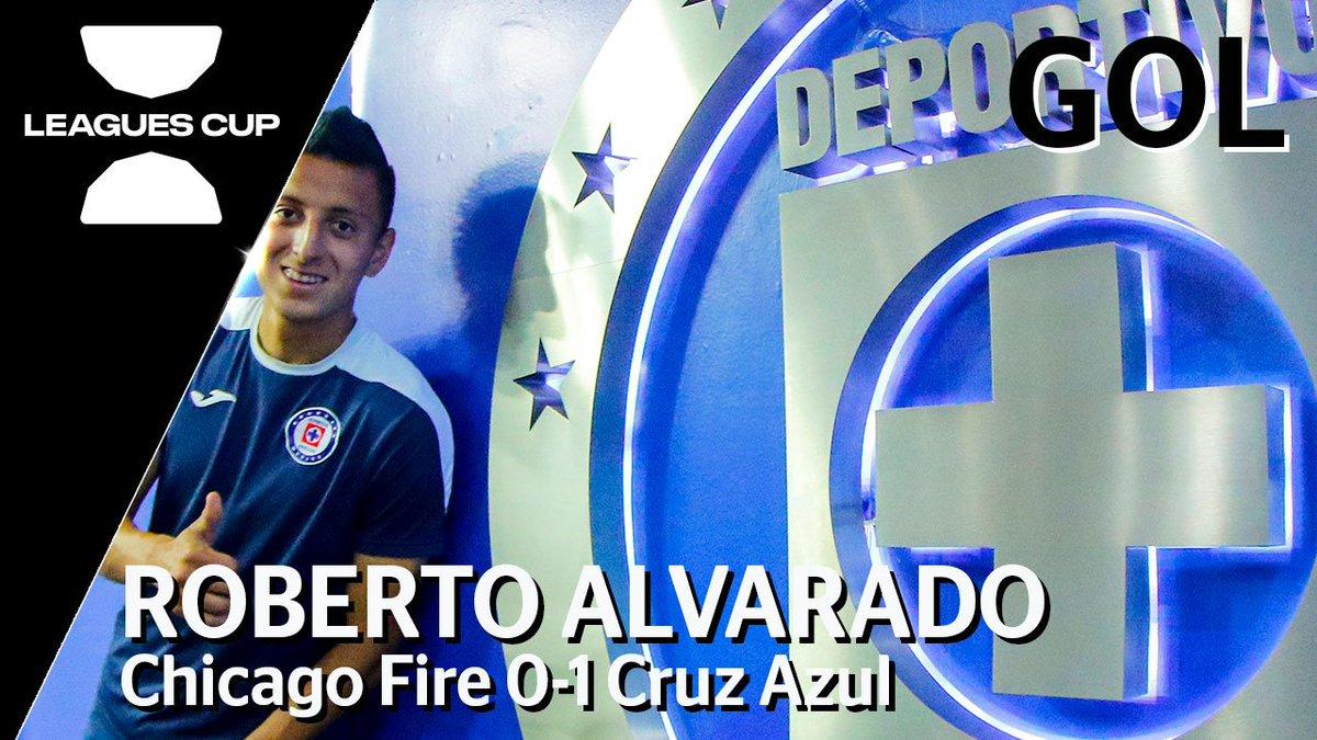 📹#NoTeLoPierdas G⚽⚽⚽L de Roberto AlvaradoChicago Fire 0-1 Cruz Azul#LeaguesCup