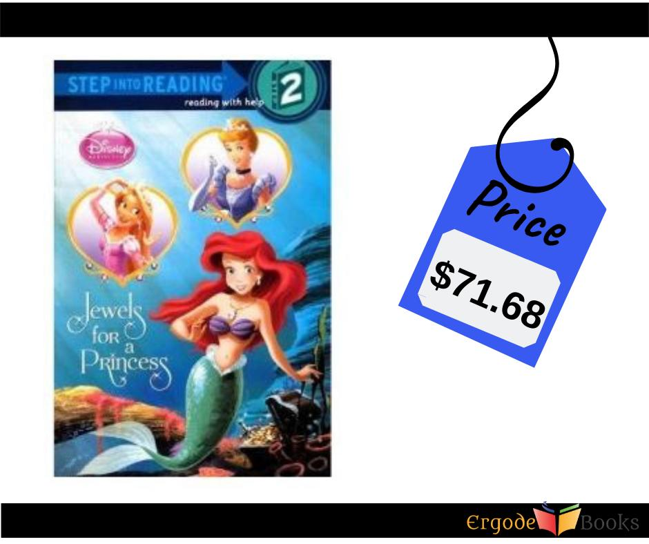 Jewels For A Princess (Turtleback School & Library Binding Edition) (#DisneyPrincess: Step Into Reading Step 2)  👉Buy now @ http://bit.ly/2OcW0hT  #ergodebooks #childrensbooks #raisingreaders #backtoschoolspecials #bestbacktoschooldeals #schoolsupplydeals #backtoschoolshopping