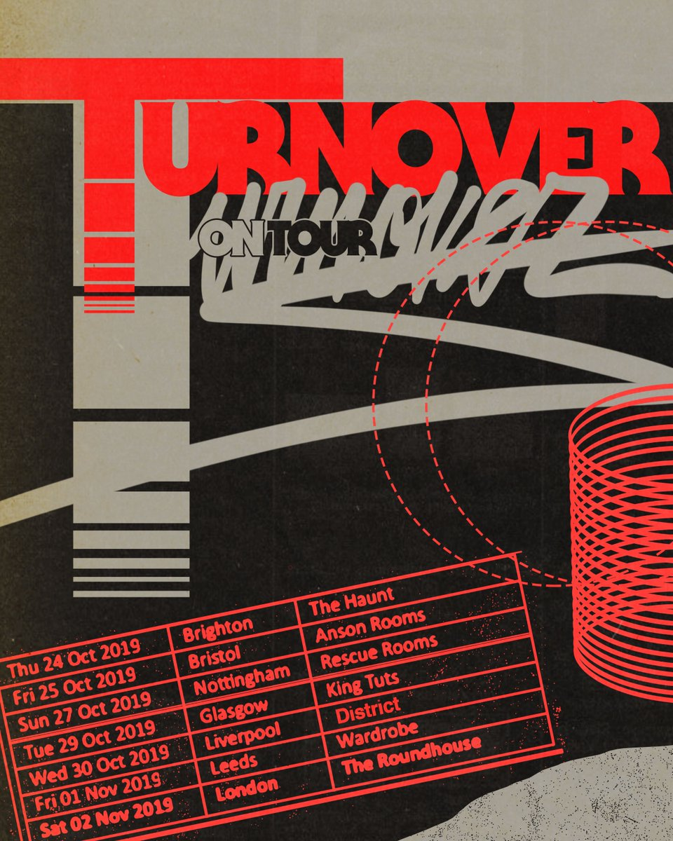 Image result for Turnover UK tour twitter