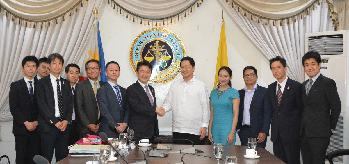 DoJ - Justice Secretary Menardo I  Guevarra earlier received