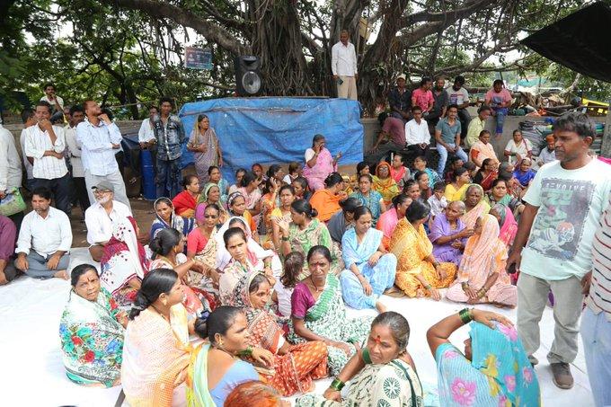 Juna Bazar Protest