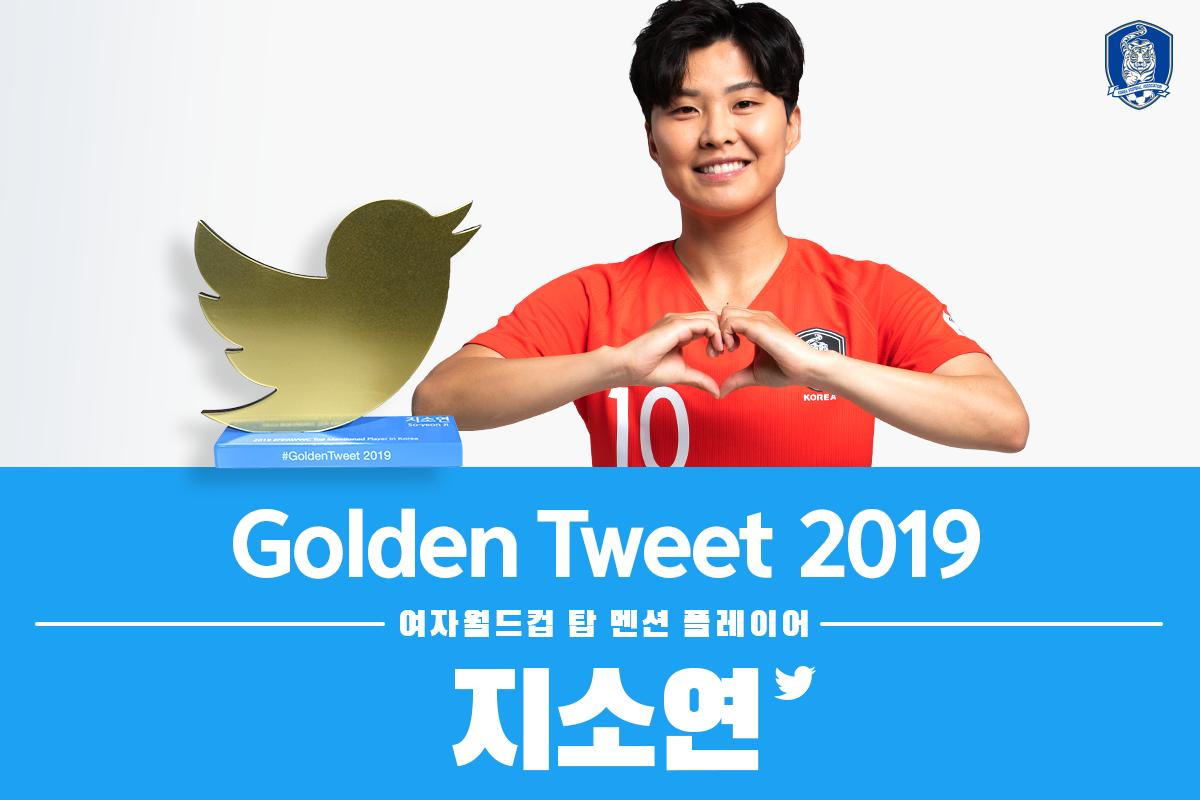 South Korea National Football Team: 2019 FIFA 여자월드컵, 2019 FIFA U-20 월드컵 기간동안 트위터에서 국가...