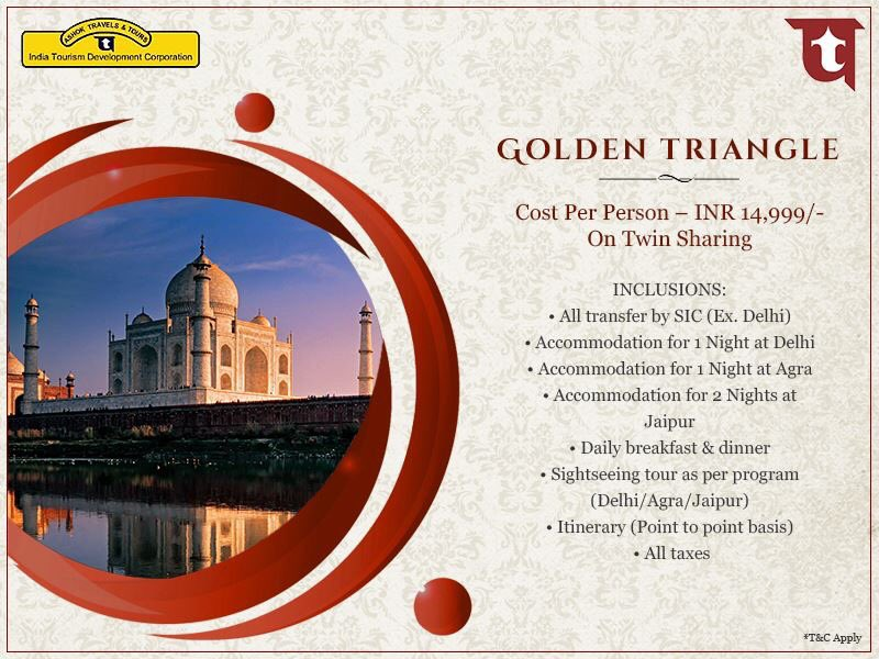 The Golden Triangle of India takes you on an interesting historical ride. Witness the best of this voyage when you plan it with Ashok Travels and Tours.  Contact: 011-26118744/5; tours@attindiatourism.com #ITDC #ATT #AshokTravelsAndTours #GoldenTriangle #travellers #travel
