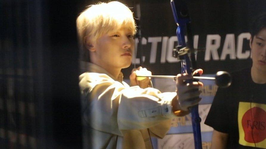 au where inseong shoots you with a bow n arrow but then he feels bad so he drives u to the hospital the end https://t.co/u2KpWHIVzU
