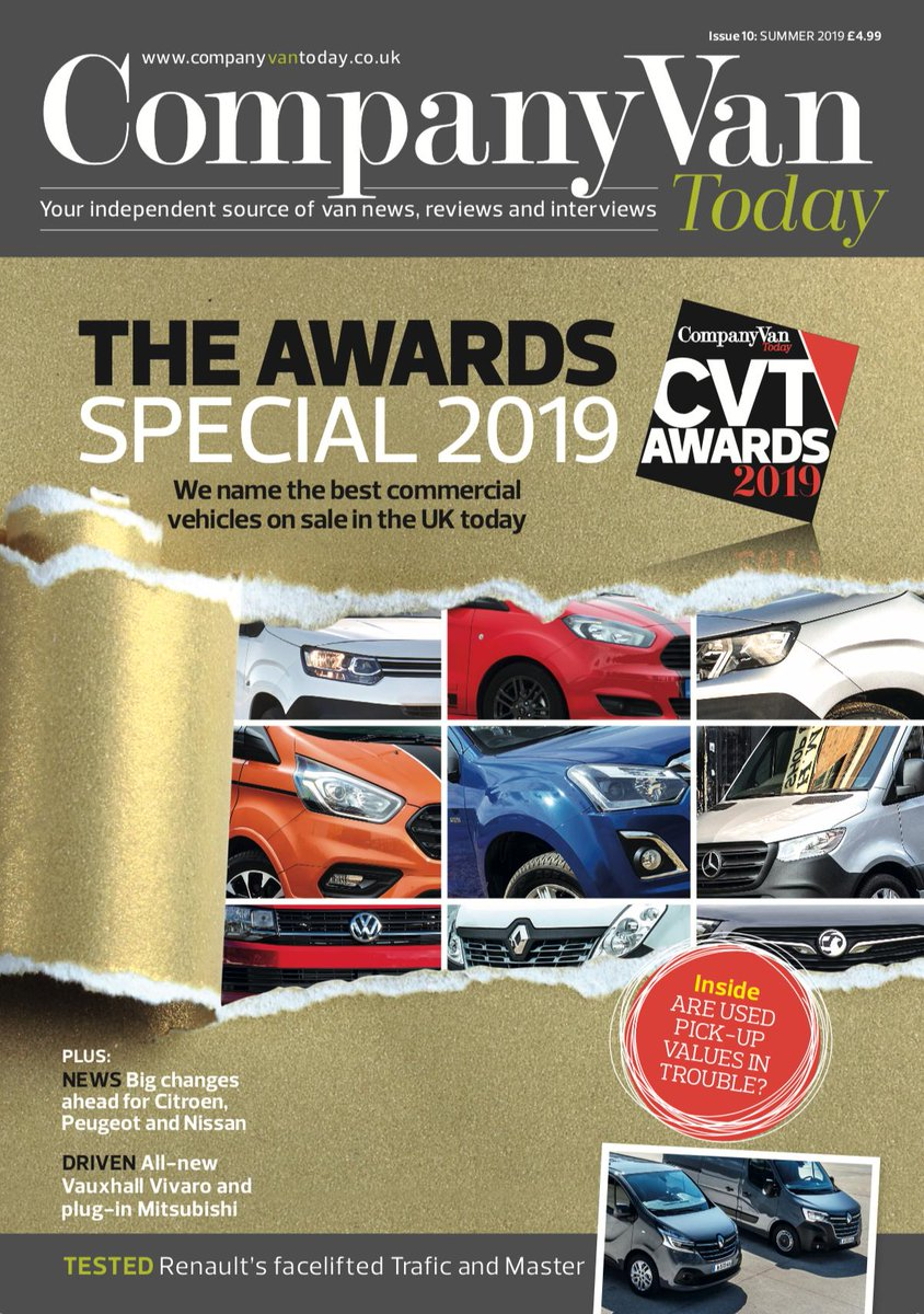 In the inaugural Company Van Today Awards that published today, the Pick-up of the Year title went to the @Volkswagen_CV Amarok. See all the winners at http://www.companyvantoday.co.uk/company-van-today-awards-2019…, and the digital version of the new magazine is at http://www.companyvantoday.co.uk/magazine/ #Volkswagen