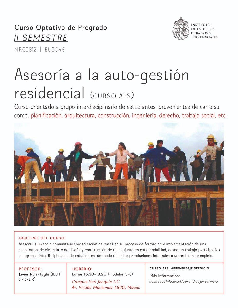 Arquitectura Uc On Twitter Curso Ieu T Asesoría A La