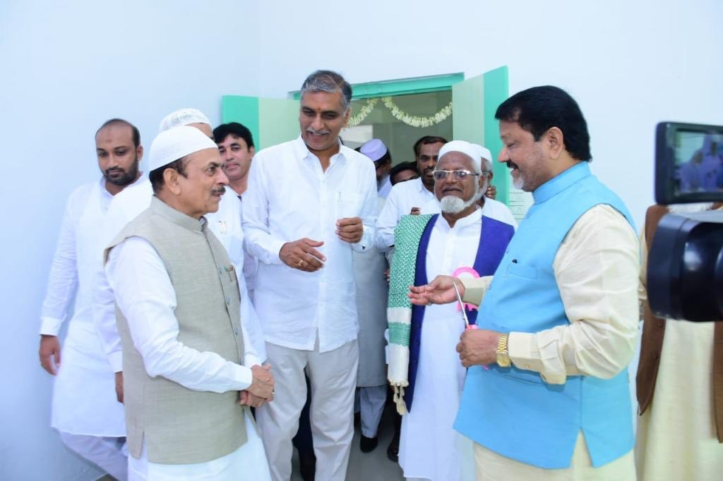 Along with Hon'ble Minister Sri Mahmood Ali garu