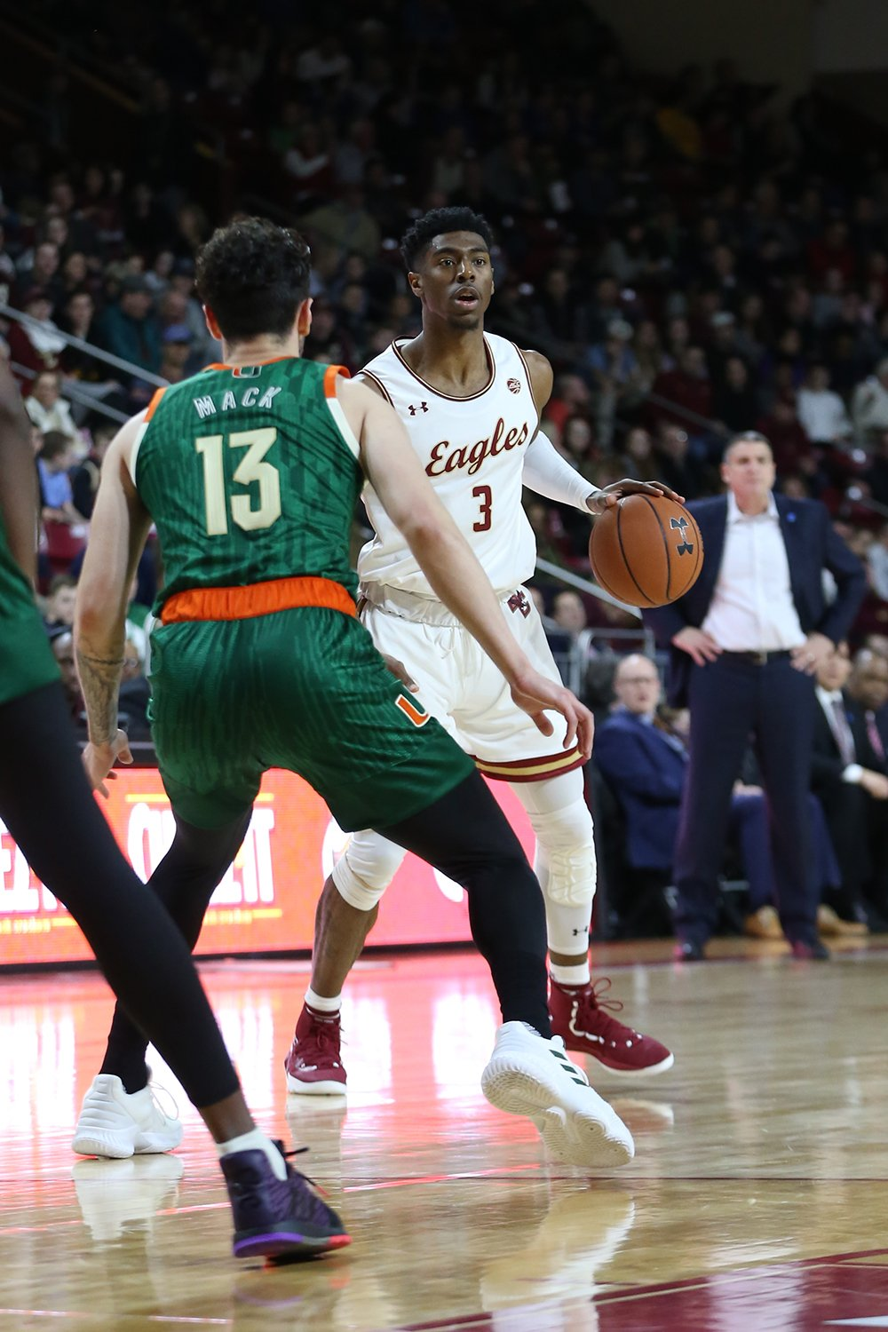 Boston College Eagles NCAA Basketball: Jared Hamilton ranked second on the Eagles in turnover rate, posting a 13.1% mark.  TO ...