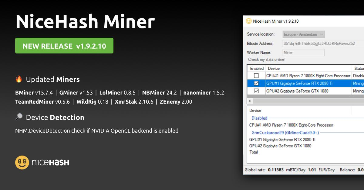 NiceHash - @NiceHashMining Twitter Profile and Downloader
