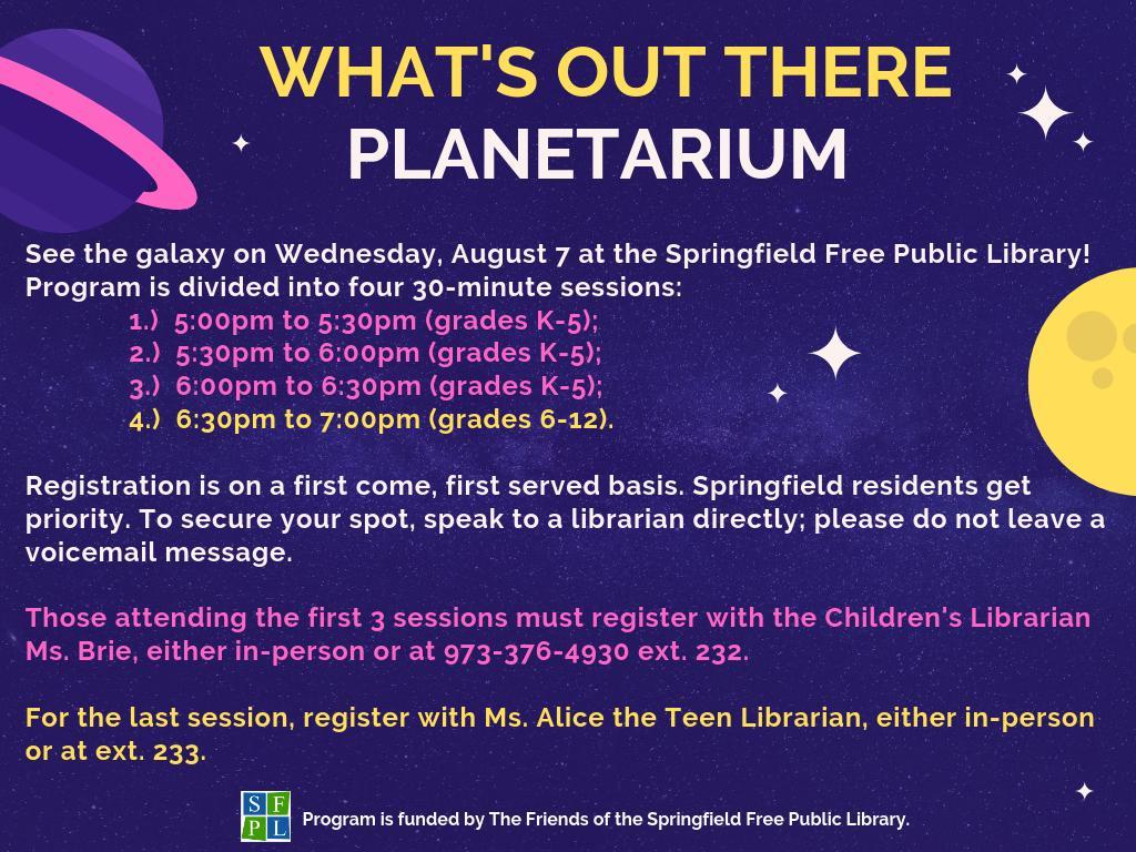 Springfield Library (@sfplnj) | توییتر