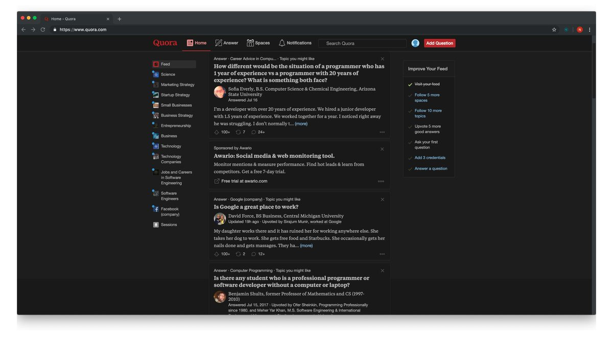 Night Eye - Dark mode extension for any website (@nighteye_ext