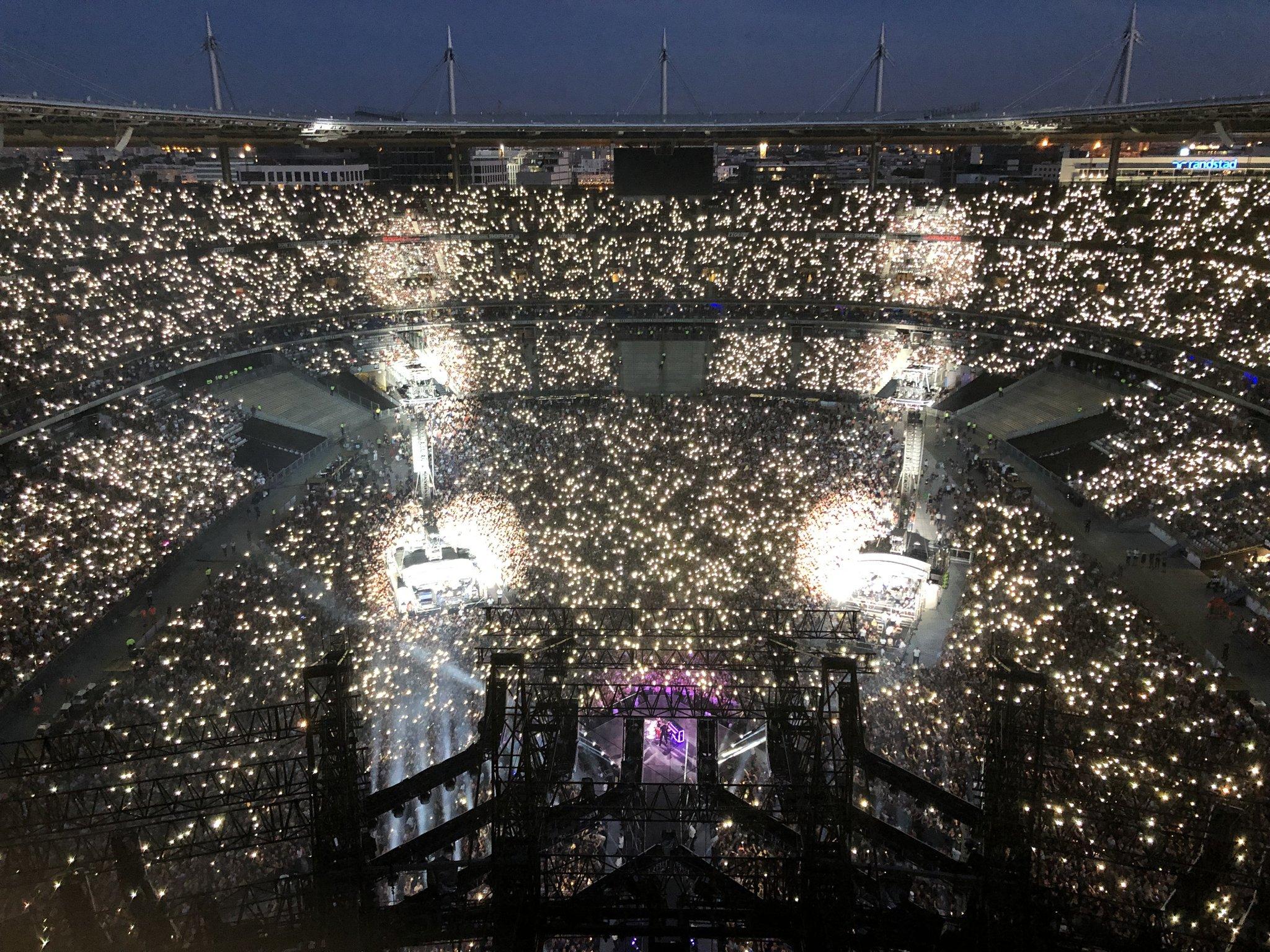 France concert de stade Concerts et