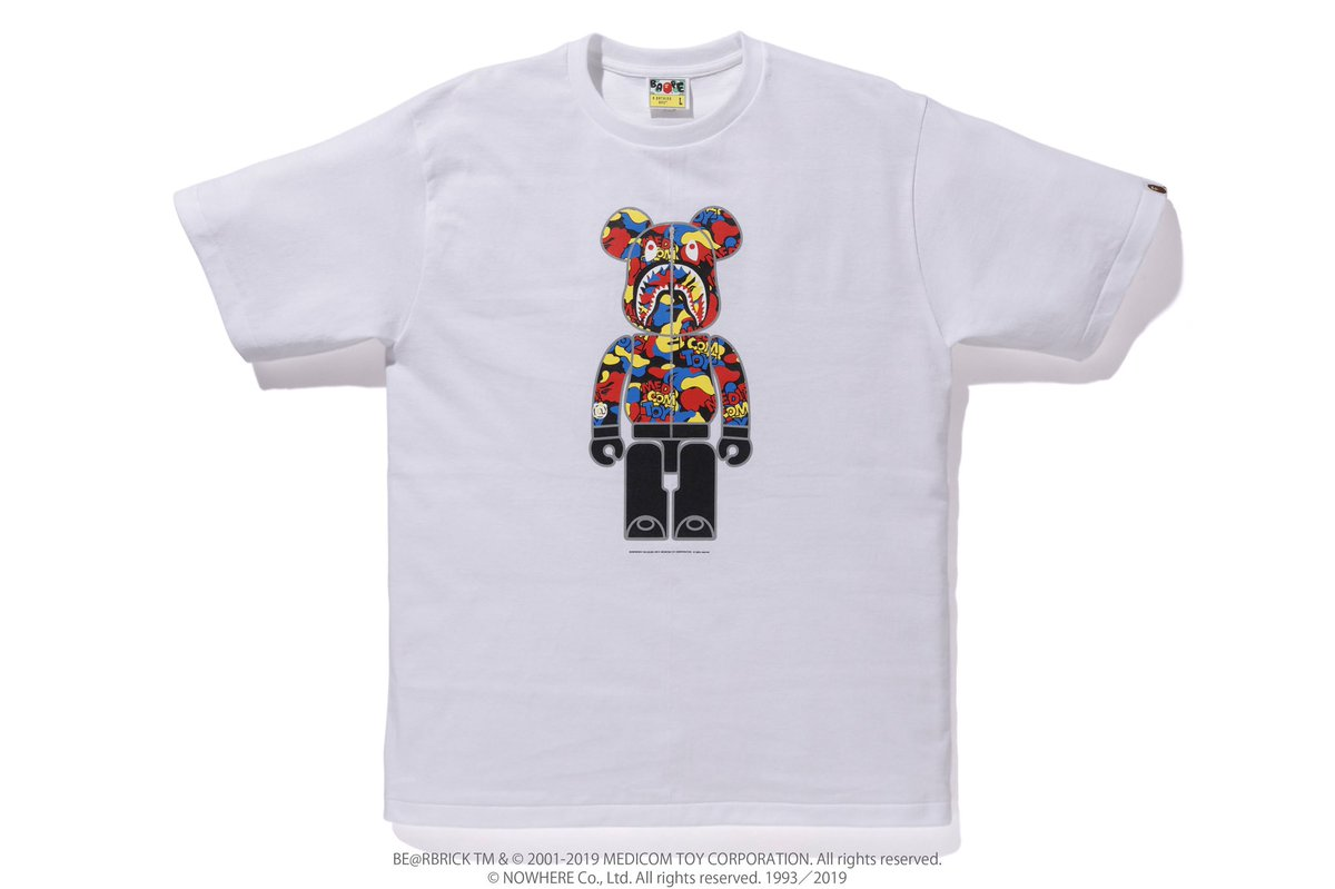 04de113c ... be available on Saturday, August 3rd at A BATHING APE® official  locations, http://BAPE.COM WEB STORE, MEDICOM TOY store, and MEDICOM TOY  online store.