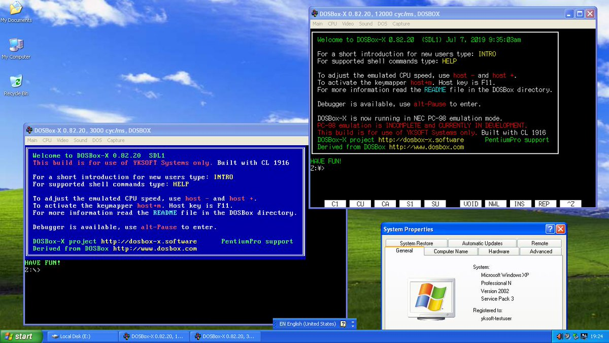 Windows 98 Dosbox Image