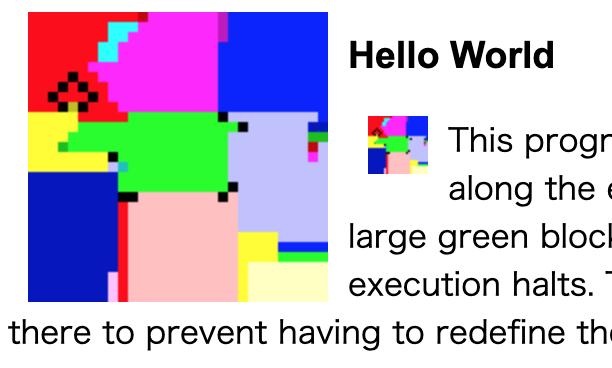 World コード hello