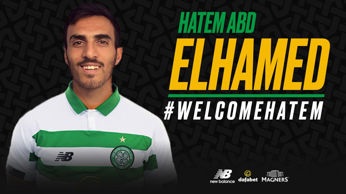 Right-back... Announced ✅  Hatem Abd Elhamed has joined #CelticFC from Hapoel Be'er Sheva on a four-year contract!   #WelcomeHatem 🍀⚪️  ➡️ https://t.co/U7mdH0mX02 https://t.co/YjVR8lAEY5