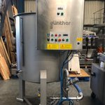 Image for the Tweet beginning: Gunther brine mixer with double